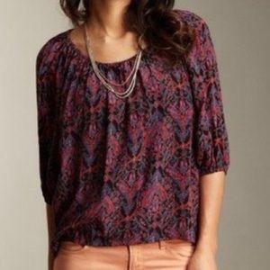 Joie Tops - Joie Newberry Purple Silk Top XS